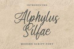 Web Font Arphylus Silfae Font Product Image 1