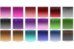 Dark Dripping Glitter Digital Paper Product Image 3