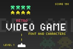 Video Game Font Product Image 1