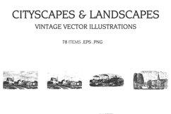 Vintage Vector Illustrations Bundle 1391 Items Product Image 6