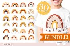 Rainbow | Rainbow png | Rainbow eps | Bundle Product Image 1