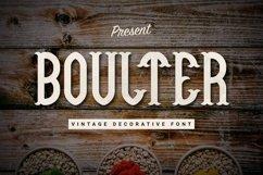 Web Font Boulter Product Image 1