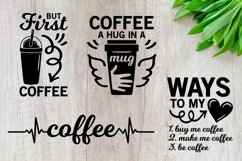 Coffee svg Bundle, but first coffee svg, mom life svg bundle Product Image 2