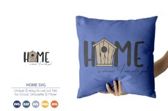 Home SVG   Bird House SVG Product Image 1