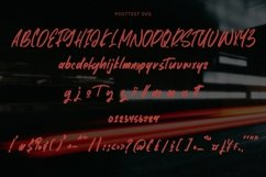 Web Font Posttest - Stunning SVG Font Product Image 4