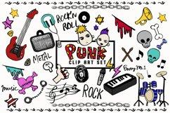Doodled Illustration 02 Punk Rock Product Image 1