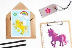 Unicorns and Rainbows graphics and illustrations Product Image 4