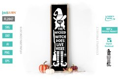 Yes the Wicked Witch Does Live Here SVG Cut File Product Image 1