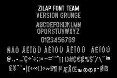 Zilap Font Team Grunge Product Image 2
