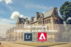 2000 Premium Lightroom and ACR Presets Product Image 1