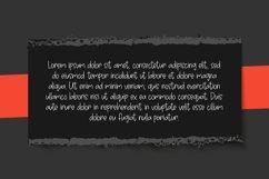 Avoids Dislikes | 3 Handmade Font Product Image 2