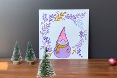 3D Gnome SVG   Christmas SVG 3D Layered Design Product Image 4