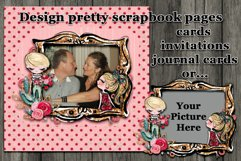 Valentine Frame Clusters and Quick Pages Product Image 2