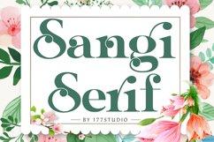 Sangi Serif Product Image 1