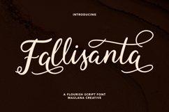 Fallisanta Flourish Font Product Image 1
