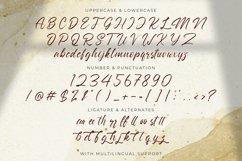 Nathallis - Handwritten Font Product Image 15