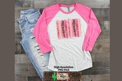 Valentine Leopard Brush Stroke Dye Sublimation Product Image 3