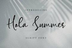 Web Font Hola Summer Font Product Image 1