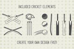 Cricket Logos Badges & Design Elements. SVG Cut Files Bundle Product Image 3