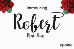 Robert update font duo Product Image 1