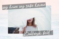 Ballinyk - Handwritten Font Product Image 5