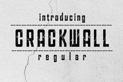 CRACKWALL Font Product Image 1