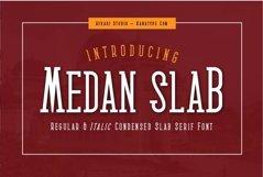 Medan Slab Condensed Slab Serif Font Webfont Product Image 1