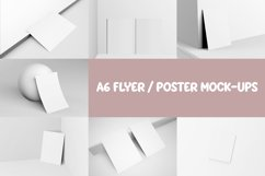 A6 FLYER / POSTER MOCKUPS Product Image 9