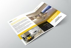 Interior Design Trifold Brochure Product Image 3