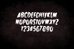 Zombie Attack Halloween Font Product Image 3