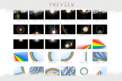 Rainbow overlays & textures, rainbow action, rainbow preset Product Image 10