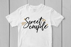 Sweet Couple - Love SVG EPS DXF PNG Cutting Files Product Image 3