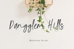 Dangglem Hills Font Script Product Image 1