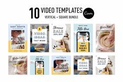ANIMATED Video Templates Pinterest & Instagram Pack | Canva Product Image 4