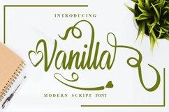 Vanilla Premium Font Product Image 1