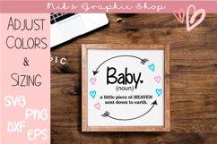 baby svg bundle, boy svg, girl svg, heart wreath bundle Product Image 1