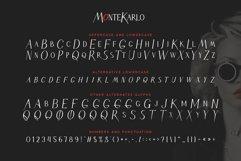 MonteKarlo Serif font family. Product Image 2