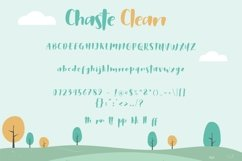 Web Font Chaste Display 3 Font Product Image 2