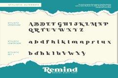 Remind-Modern Serif Font Product Image 6