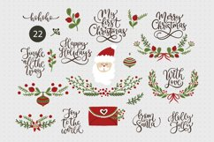 Christmas lettering & Christmas SVG set. Product Image 1