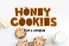 Honey Cookies - fun & uniqe font Product Image 1