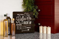 Instant mock up Wood Sign Kitchen Cutting Board Product Image 6