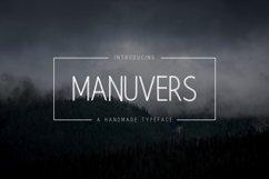 Manuvers - Handmade Sans Font - Product Image 1
