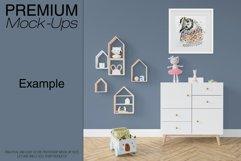 Kids Room - Wall & 90 Custom Frames Product Image 6