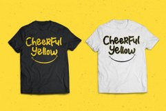 Cheerful Yellow Product Image 6