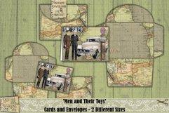 Vintage Cars | Cards | Envelopes | Masculine | Printable Product Image 4