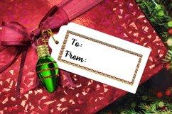 6 Christmas Tag Bundle - JPG & PNG Product Image 5