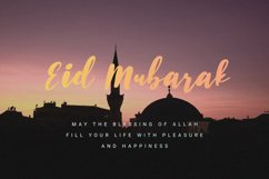 Husein Script | Handwritten Ramadan Font Product Image 4