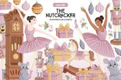 Nutcracker Watercolor Clipart Product Image 1