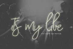 With My Love Script Font Product Image 4